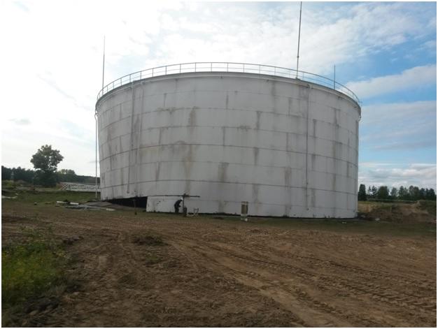 Демонтаж резервуара 14000 м3